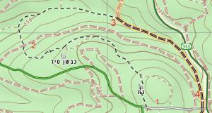 מפת טיול אלות