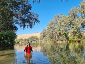 משמר הירדן, נהר הירדן ונחל מחניים